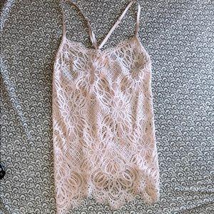 Victoria's Secret pink intimate slip dress